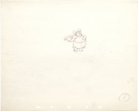 """Walt Disney Studios - """"Fantasia"""" Production Drawing Original Art (1940). This production drawing from the &quo..."""