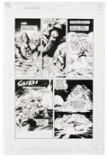 Original Comic Art:Panel Pages, Val Mayerik - The Toxic Avenger #7, page 20 Original Art (Marvel,1991). Surrounded by a slimy group of Toxic Avenger-eaters...