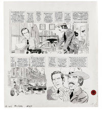 """Angelo Torres - Mad #169 Complete 6-page Story """"McClod"""" Original Art (EC, 1974). Amiable Angelo Torres throws..."""