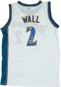 Basketball Collectibles:Uniforms, John Wall Signed Washington Wizards Jersey....