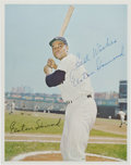 Baseball Collectibles:Photos, Elston Howard Signed Photograph. ...