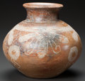 Pre-Columbian:Ceramics, A MICHOACAN INCISED JAR. c. 200 BC - 200 AD...