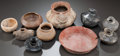 Pre-Columbian:Ceramics, TEN SMALL MISCELLANEOUS BOWLS. c. 200 BC - 900 AD... (Total: 10Items)