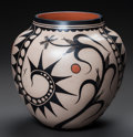 American Indian Art:Pottery, A COCHITI POLYCHROME JAR. Virgil Ortiz. c. 2005...