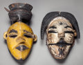 Tribal Art, Two Ogoni Masks... (Total: 2 )