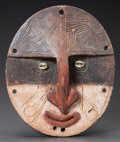 Tribal Art, A SAWOS (OR RELATED) LID WITH HANDLE...