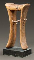 Tribal Art, A TURKANA NECK REST...