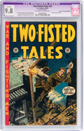 Golden Age (1938-1955):War, Two-Fisted Tales #33 Gaines File pedigree 2/12 - Trimmed (EC, 1953) CGC Apparent NM/MT 9.8 Off-white to white pages....