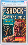 Golden Age (1938-1955):Horror, Shock SuspenStories #7 (EC, 1953) CGC VF 8.0 Off-white pages....
