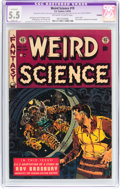 Golden Age (1938-1955):Science Fiction, Weird Science #19 (EC, 1953) CGC Apparent FN- 5.5 Slight (A)Off-white to white pages....