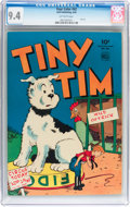 Golden Age (1938-1955):Adventure, Four Color #42 Tiny Tim (Dell, 1944) CGC NM 9.4 Off-white pages....