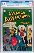 Golden Age (1938-1955):Science Fiction, Strange Adventures #14 Bethlehem pedigree (DC, 1951) CGC NM- 9.2Off-white pages....