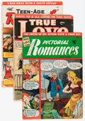 Golden Age (1938-1955):Romance, Comic Books - Assorted Golden Age Romance Comics Group (VariousPublishers, 1950s) Condition: Average GD/VG.... (Total: 14 ComicBooks)