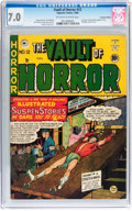 Golden Age (1938-1955):Horror, Vault of Horror #12 Canadian Edition (EC, 1950) CGC FN/VF 7.0Off-white to white pages....