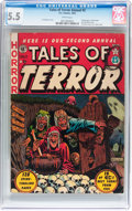 Golden Age (1938-1955):Horror, Tales of Terror Annual #2 (EC, 1952) CGC FN- 5.5 White pages....