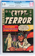 Golden Age (1938-1955):Horror, Crypt of Terror #19 (EC, 1950) CGC VG/FN 5.0 Cream to off-whitepages....