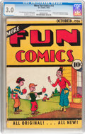 Platinum Age (1897-1937):Miscellaneous, More Fun Comics #14 (DC, 1936) CGC GD/VG 3.0 Off-white to whitepages....