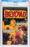 Golden Age (1938-1955):Horror, The Beyond #11 (Ace, 1952) CGC VF- 7.5 Off-white to white pages....