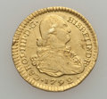Colombia, Colombia: Charles IV gold Escudo 1792 P-JF,...