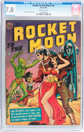 Golden Age (1938-1955):Science Fiction, Rocket to the Moon #nn (Avon, 1951) CGC FN/VF 7.0 Off-whitepages....