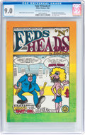 Silver Age (1956-1969):Alternative/Underground, Feds 'N Heads #1 (Gilbert Shelton, 1968) CGC VF/NM 9.0 Off-white to white pages....