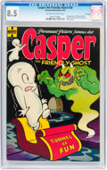 Golden Age (1938-1955):Humor, Casper the Friendly Ghost #20 File Copy (Harvey, 1954) CGC VF+ 8.5 Off-white to white pages....