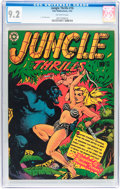 Golden Age (1938-1955):Adventure, Jungle Thrills #16 (Star Publications, 1952) CGC NM- 9.2 Off-white pages....