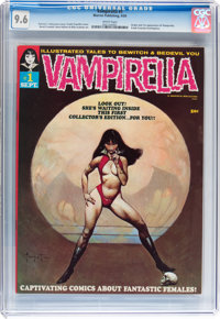 Vampirella #1 (Warren, 1969) CGC NM+ 9.6 White pages