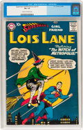 Silver Age (1956-1969):Superhero, Superman's Girlfriend Lois Lane #1 (DC, 1958) CGC FN- 5.5 Cream to off-white pages....