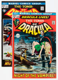 Bronze Age (1970-1979):Horror, Tomb of Dracula #1 and 2 Group (Marvel, 1972) Condition: AverageVF.... (Total: 2 Comic Books)