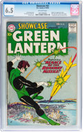 Silver Age (1956-1969):Superhero, Showcase #22 Green Lantern (DC, 1959) CGC FN+ 6.5 Off-whitepages....