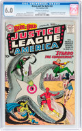 Silver Age (1956-1969):Superhero, The Brave and the Bold #28 Justice League of America (DC, 1960) CGC FN 6.0 Off-white to white pages....