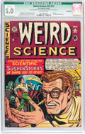 Golden Age (1938-1955):Science Fiction, Weird Science #12 (#1) (EC, 1950) CGC Qualified VG/FN 5.0 Off-whitepages....