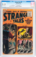 Silver Age (1956-1969):Horror, Strange Tales #47 (Atlas, 1956) CGC VF 8.0 Off-white to whitepages....