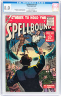 Silver Age (1956-1969):Horror, Spellbound #27 (Atlas, 1956) CGC VF 8.0 Off-white to whitepages....