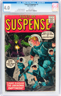 Silver Age (1956-1969):Science Fiction, Tales of Suspense #1 (Marvel, 1959) CGC VG 4.0 White pages....