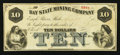 Obsoletes By State:Michigan, Eagle River, MI- Bay State Mining Company $10 Apr. 22, 1867(?) Lee CMGC-3-20. ...