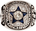 Football Collectibles:Others, 1971-72 Dallas Cowboys Super Bowl Championship Player's Ring. ...