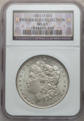 Morgan Dollars, 1881-O $1 MS63 NGC. Ex: Fitzgerald Collection, Fitzgerald's NevadaClub Reno Hoard; 1884-O $1 MS63 NGC. Ex: Fitzgerald C... (Total: 6coins)
