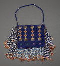 American Indian Art:Beadwork and Quillwork, A UTE LOOM-BEADED POUCH...