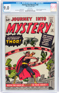Silver Age (1956-1969):Superhero, Journey Into Mystery #83 (Marvel, 1962) CGC VF/NM 9.0 White pages....