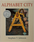 Books:Children's Books, Stephen T. Johnson. INSCRIBED. Alphabet City. Viking, 1995.First edition, first printing. Signed and inscribed by...