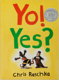 Books:Children's Books, Chris Raschka. INSCRIBED. Yo! Yes? Orchard Books, 1993.Third printing. Signed and inscribed by the author. Publ...