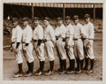 Baseball Collectibles:Photos, 1923 New York Yankees Pitching Staff Original News Photograph....