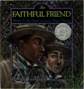 Books:Children's Books, Brian Pinkney [illustrator]. Robert D. San Souci. INSCRIBED WITHORIGINAL DRAWING. The Faithful Friend. Simon & ...