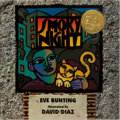 Books:Children's Books, David Diaz [illustrator]. Eve Bunting. INSCRIBED. SmokyNight. Harcourt Brace, 1994. Third printing. Signed and in...