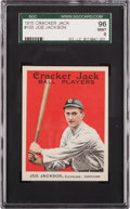 Baseball Cards:Singles (Pre-1930), 1915 Cracker Jack Joe Jackson #103 SGC 96 Mint 9 Pop Two, NoneHigher!...