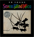 Books:Children's Books, Ed Young. INSCRIBED. Seven Blind Mice. Philomel Books, 1992.Later printing. Signed and inscribed by the author. ...