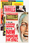 Magazines:Miscellaneous, Screen Thrills Illustrated #1-10 Group (Warren, 1962-65) Condition:Average FN/VF.... (Total: 10 Comic Books)