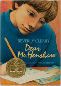 Books:Children's Books, Beverly Cleary. INSCRIBED. Dear Mr. Henshaw. Morrow, 1983.Later impression. Signed and inscribed by the author. ...